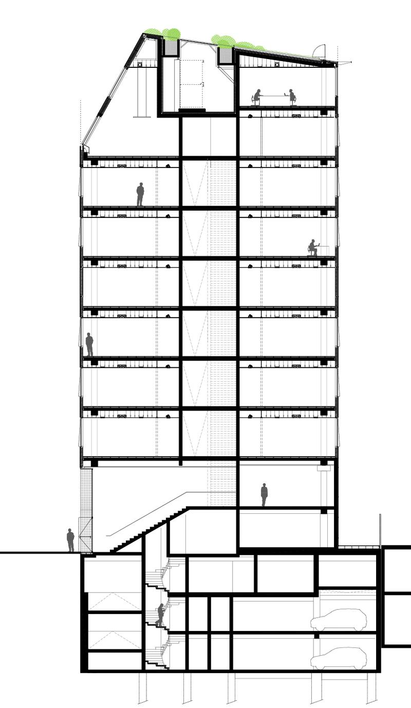 Bureau de dessin en b timent dessin en b timent cr ation for Coupe verticale d un batiment