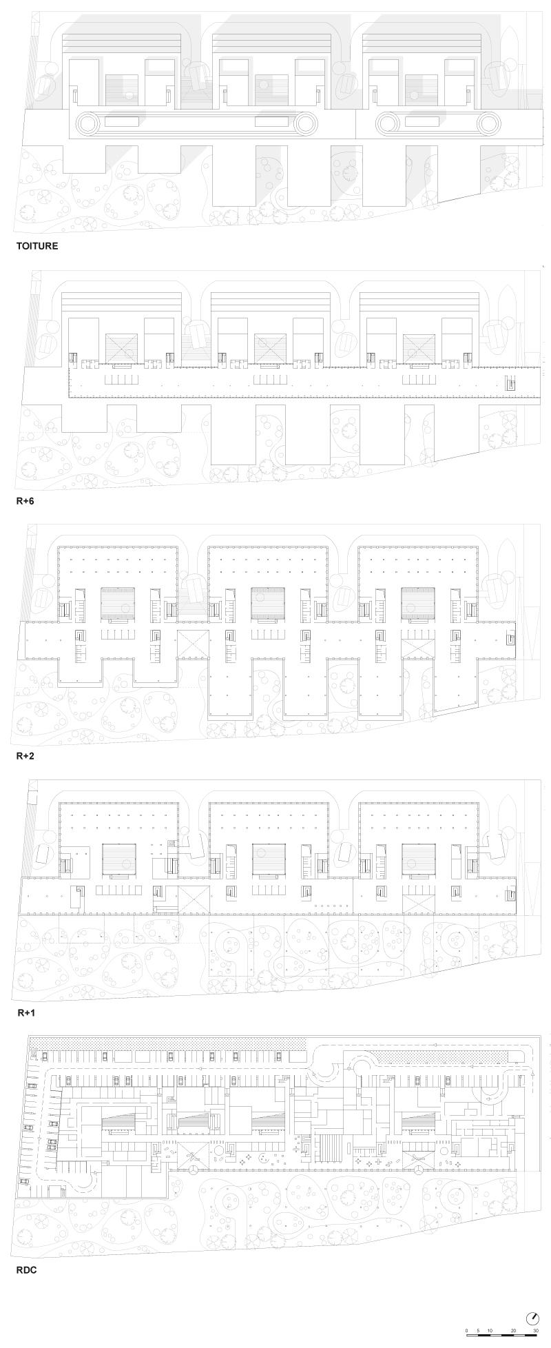 Plans des étages 3