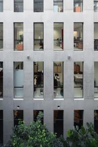 23 Bezons atrium façade