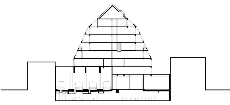19 Corentin - Coupe bâtiment B
